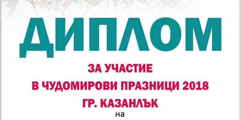 ЧудомирДиплом